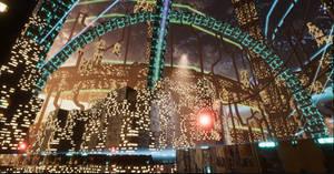 Arch - Sci Fi City Light Test