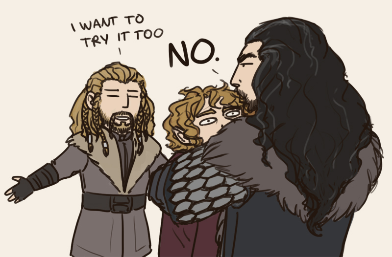 sharing is caring, thorin by annicron