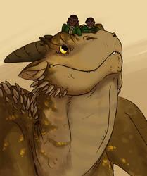 Kulingile, Demane and Sipho by annicron