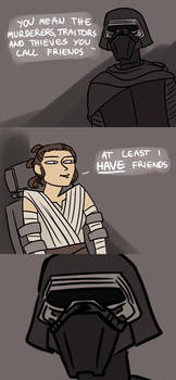Kylo 'No Friends' Ren by annicron