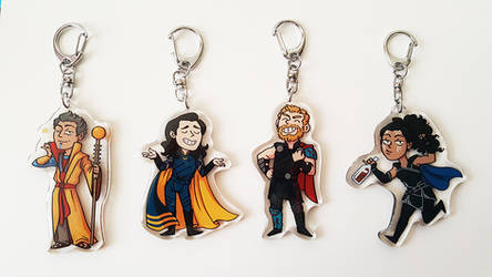 Thor: Ragnarok charms by annicron