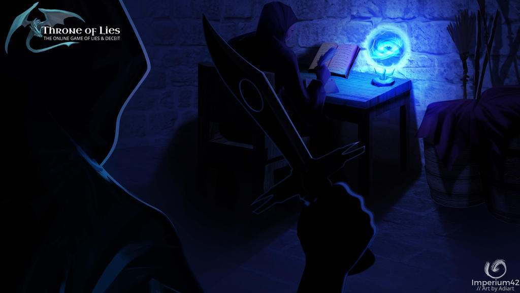 throne of lies online game wizard room assassin by imperium42