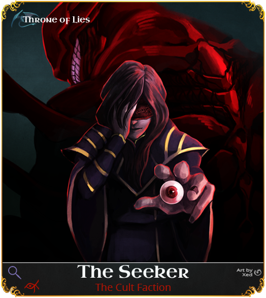 The Seeker - Throne of Lies (Online Game) by Imperium42