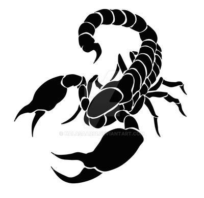 scorpion tribal tattoo design open by halasaar01 on deviantart rh deviantart com tribal scorpion tattoo designs free Simple Scorpion Tattoo Designs