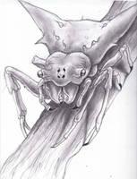 Sketchbook Crab spider!! by Halasaar01