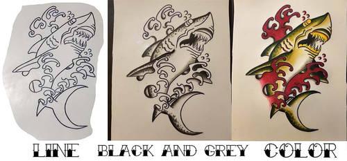 New School Designs On Dev Tattoos Deviantart