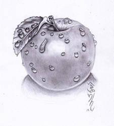 Sweaty Apple!! by Halasaar01