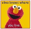 Elmo knows where you live. by xpurplexhazexchicax