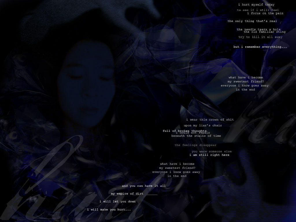 Nine Inch Nails - Hurt by craptastic on DeviantArt