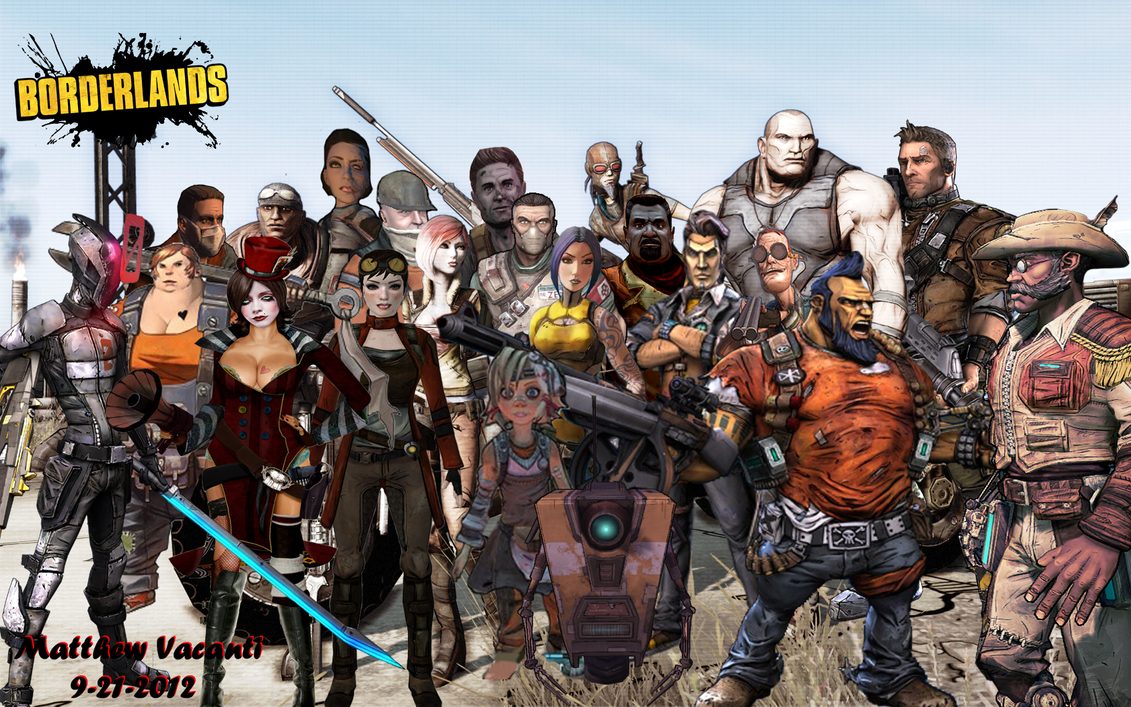 borderlands 2 how to choose character