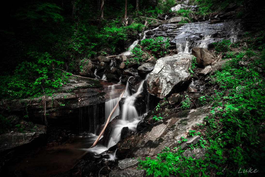Amicalola Falls State Park: Lower Fall Part