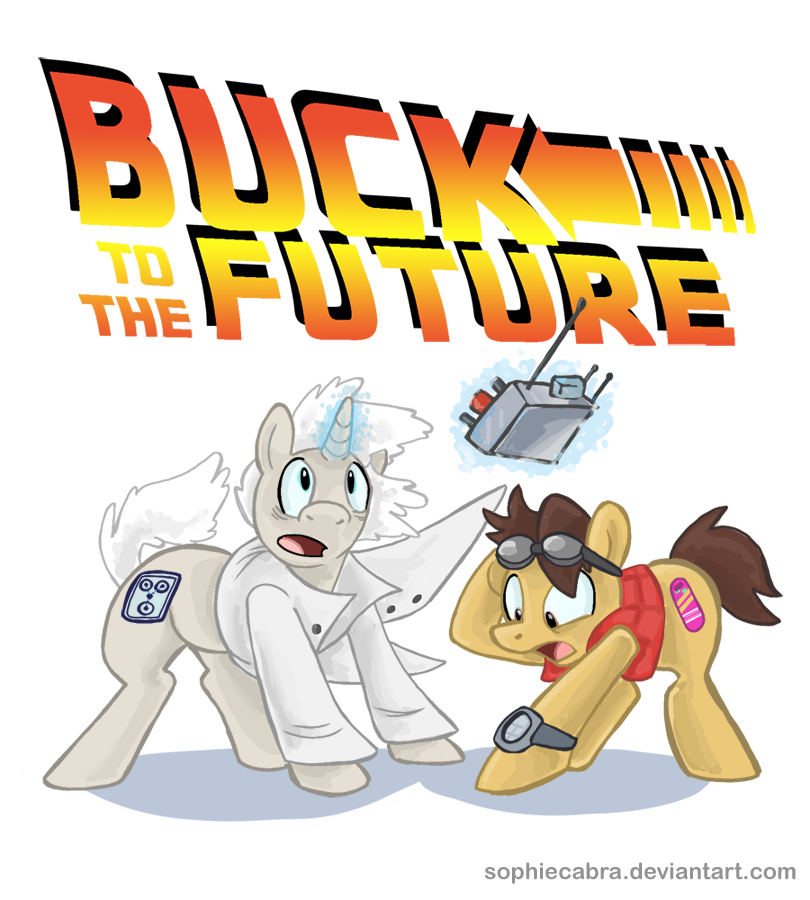 Buck to the Future by sophiecabra
