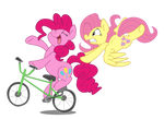 Pinkie and Fluttershy's Joy Ride