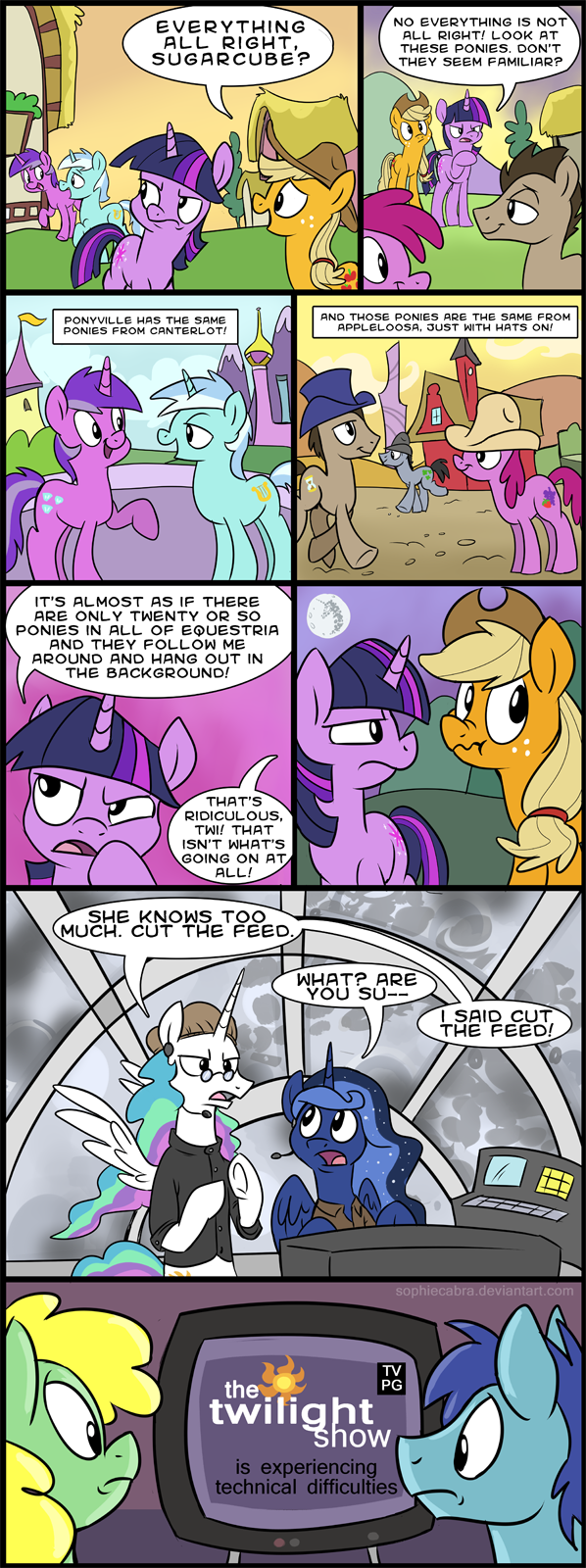 Comic: The Twilight Show by sophiecabra