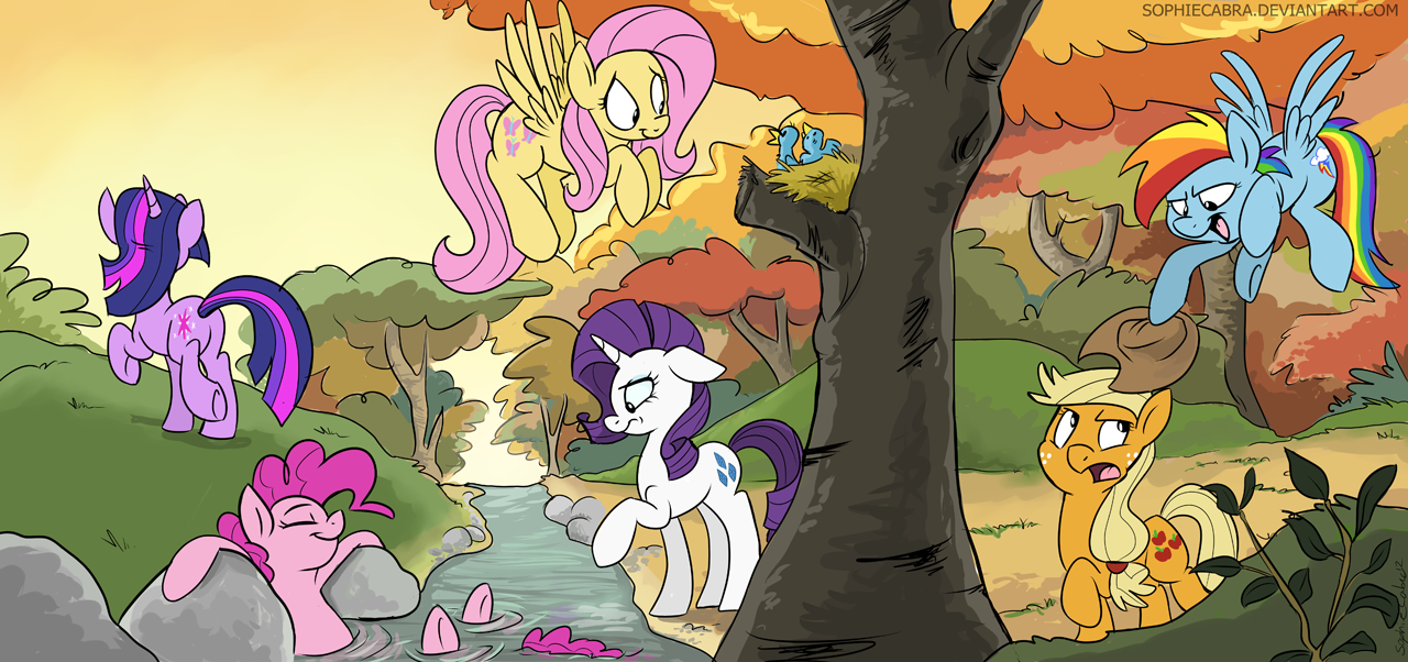 Hike in the Woods by sophiecabra