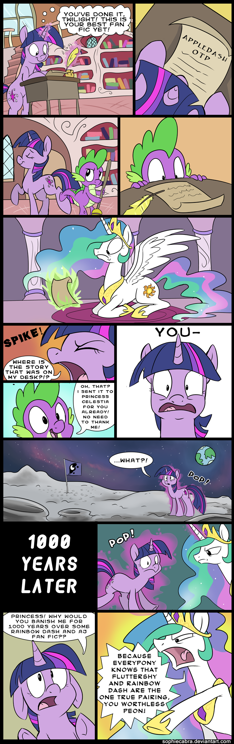 Comic: For Her Eyes Only by sophiecabra