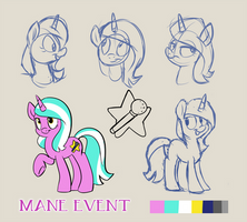 Bronycon Mascot Entry - Mane Event by SpainFischer