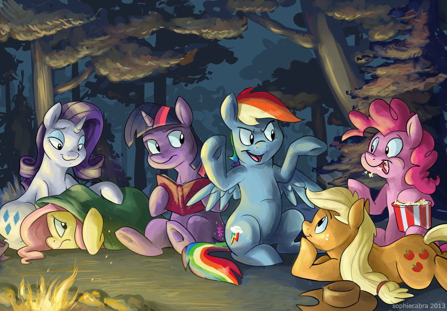 Fireside Friendship by sophiecabra