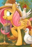 Chicks Dig Fluttershy