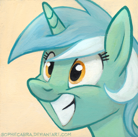 Square Series - Lyra Heartstrings by sophiecabra