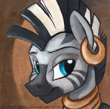 Square Series - Zecora by sophiecabra