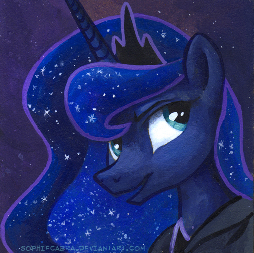 Square Series - Luna by sophiecabra