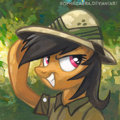 Square Series - Daring Do by SpainFischer