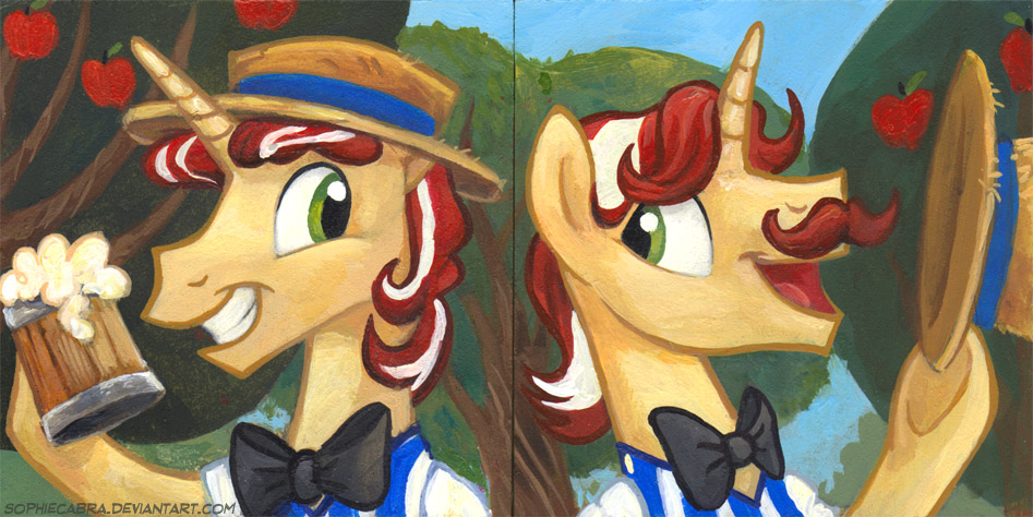 Square Series - Flim and Flam by SpainFischer
