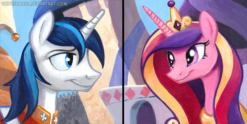 Square Series - Shining Armor and Princess Cadance