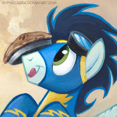 Square Series - Soarin by sophiecabra