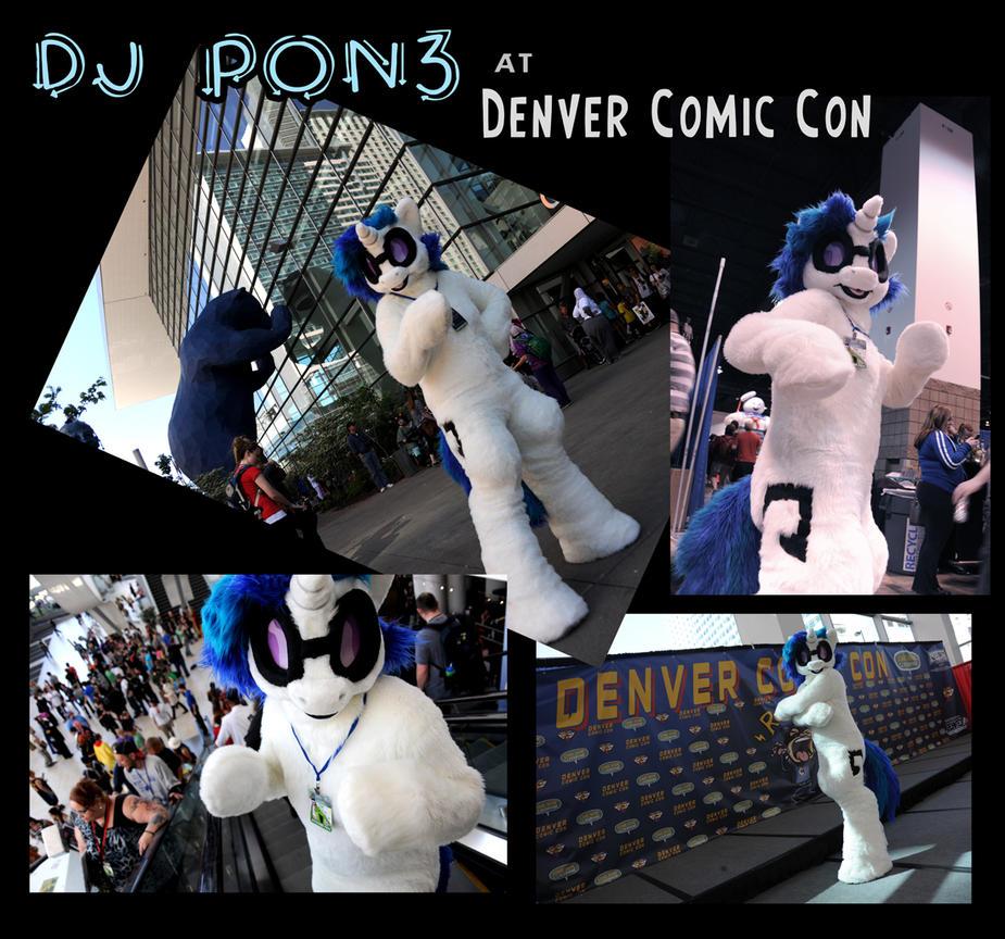 DJ Pon3 at Denver Comic Con! by sophiecabra