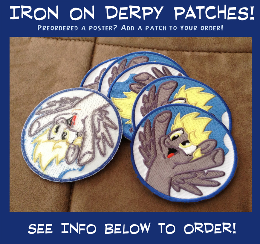 Derpy Patches! by sophiecabra