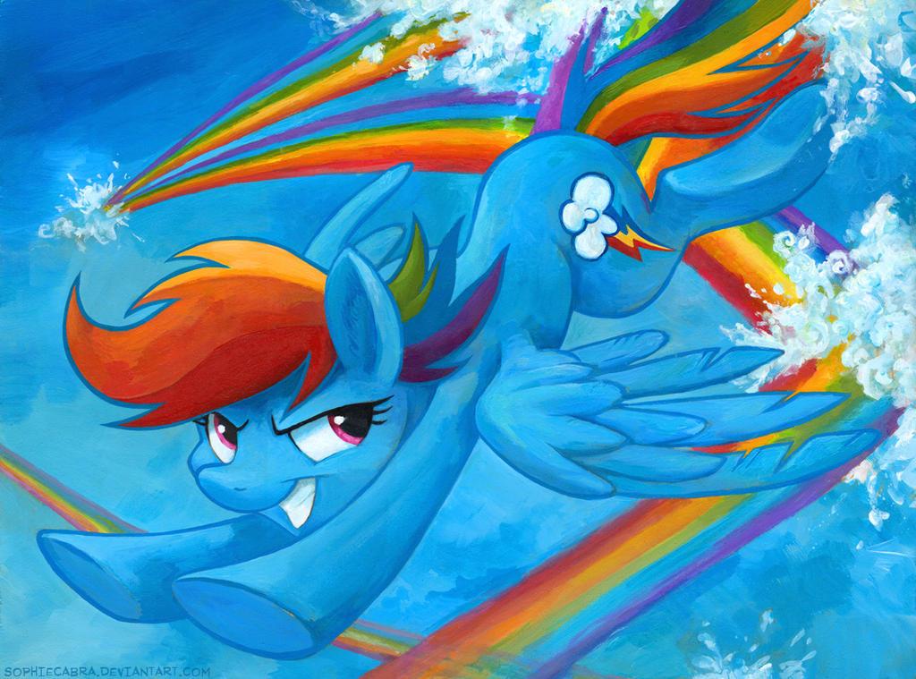Rainbow Smash by sophiecabra