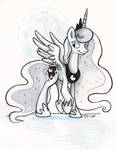 Sketch - Princess Luna