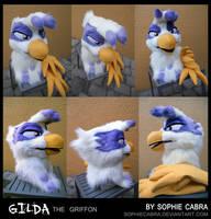 Gilda the Griffon by SpainFischer