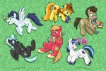 MLP Cup Art - Stallions