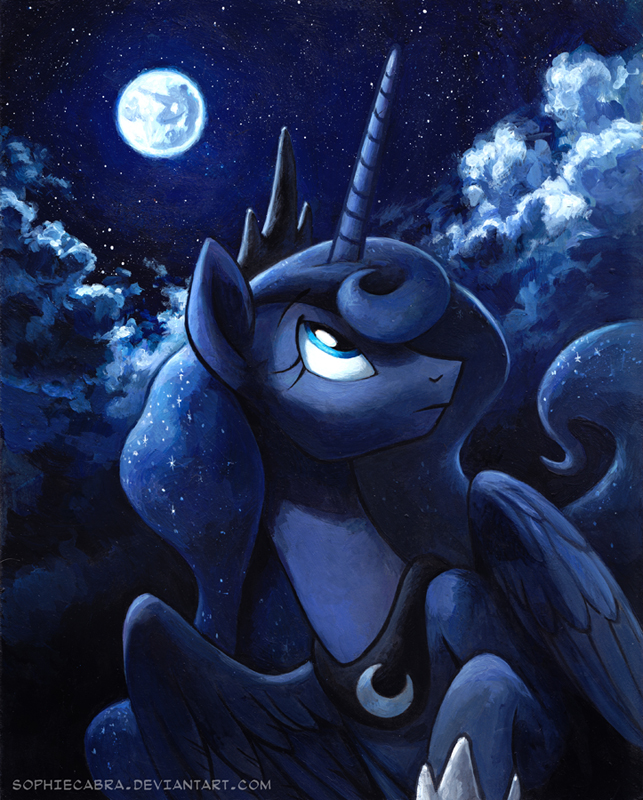 Luna by sophiecabra