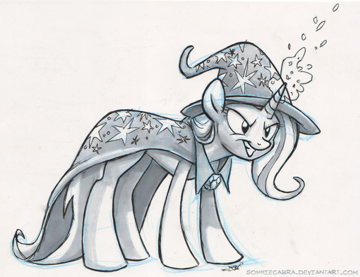 Sketch - Trixie by sophiecabra