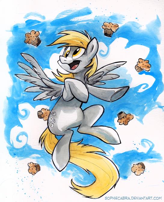 Sketch - Muffins! by sophiecabra