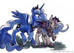 Sketch - Luna's Guard