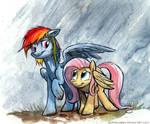 Sketch - Rainbow Umbrella