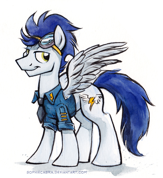 Sketch - Soarin by sophiecabra