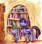 Sketch  - Twilight's Little Helper