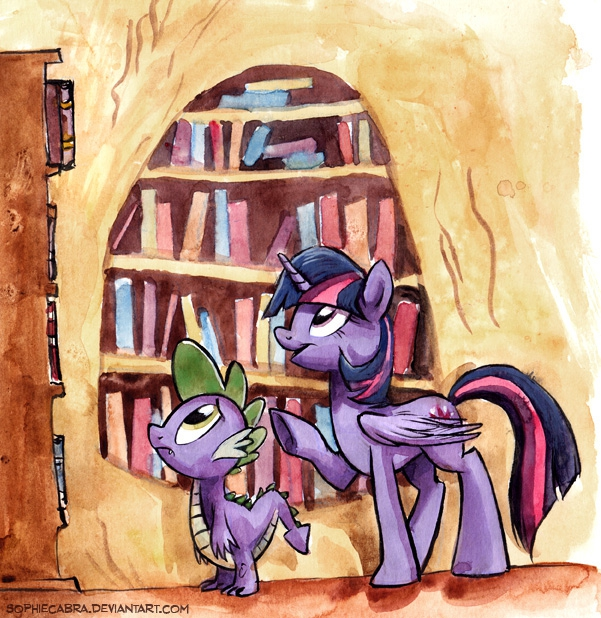Sketch  - Twilight's Little Helper by sophiecabra