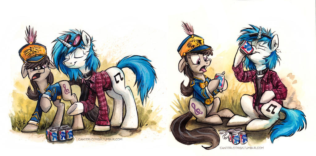 Canterlot High - Delinquents by sophiecabra