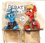 Canterlot High - The Debate Team