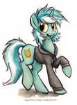 Canterlot High - Scruffy Lyra