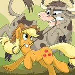 Paper Ponies Collab - Applejack