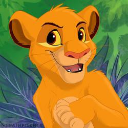 Fan Favorites #39 - Cub Simba by SpainFischer