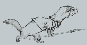 Redwall Baddie - The Ferret